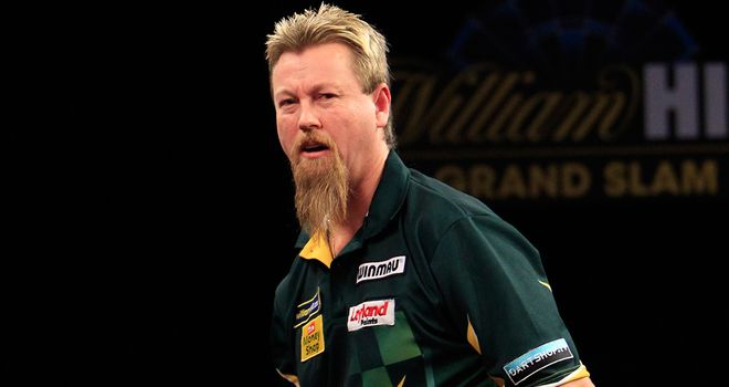 Simon Whitlock: averaged 109.54 and hit a 170 checkout