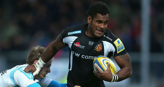 Sireli Naqelevuki: Named in Fiji's starting XV for Test against Englans