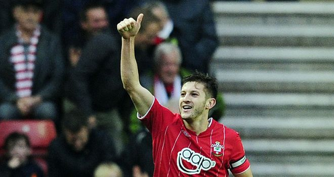 Adam Lallana: Delighted with Southampton's showing against Newcastle