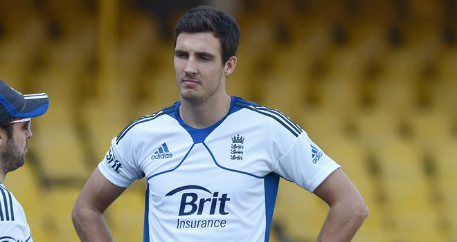 Steven Finn: Caused problems for the Academy XI
