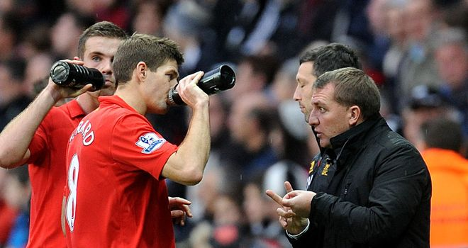 Brendan Rodgers: Hoping to free Steven Gerrard against Southampton