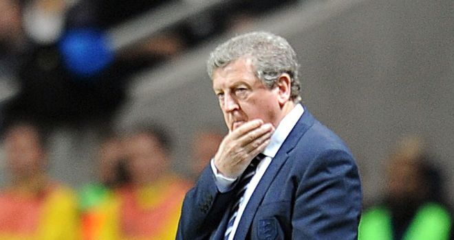 Roy Hodgson: The England boss is pleased with the likes of Raheem Sterling, Andre Wisdom and Adam Morgan