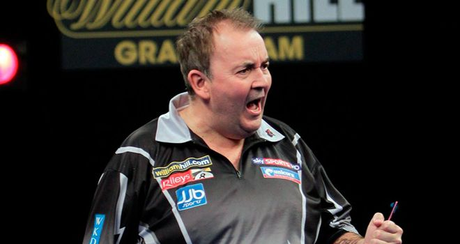 Phil Taylor: Grand Slam of Darts champion back in Wolverhampton