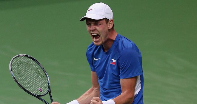 Tomas Berdych: Prevented Spain from taking a 2-0 lead in the Davis Cup final