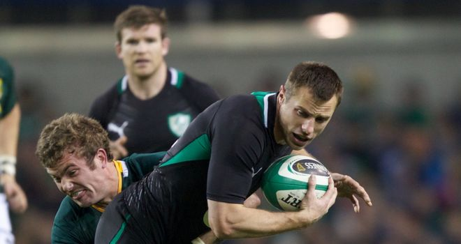 Tommy Bowe: No panic in Ireland squad despite poor run