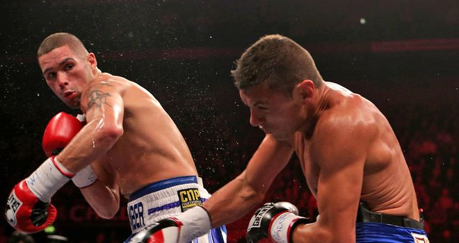 Tony Bellew: Overcame a nasty cut to defeat Argentina's Roberto Bolonti
