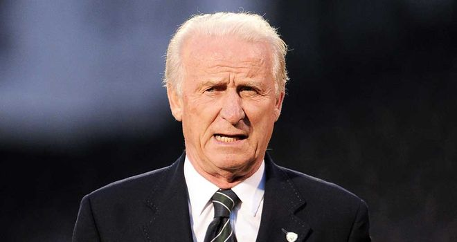 Trapattoni: Has made six changes from victory over Faroe Islands