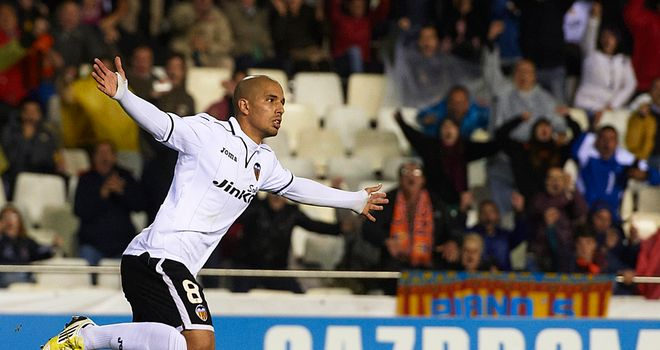 Sofiane Feghouli scored for Valencia