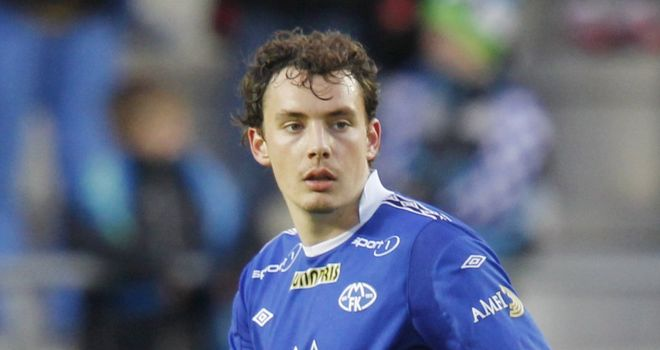 Vegard Forren: Everton boss David Moyes watched him in action in midweek