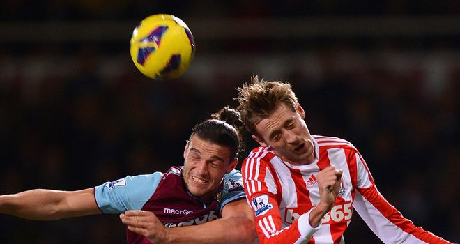 Carroll and Crouch: Battling for their team