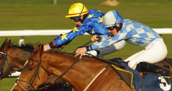 African Gold (near) will return to Newbury this weekend