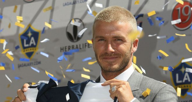 David Beckham: Linked with a host of clubs since announcing that he will leave LA Galaxy in December
