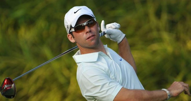Paul Casey: Shot an opening 68 at Sentosa GC in Singapore