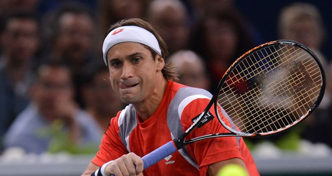 David Ferrer: Won his seventh title of the year in Paris