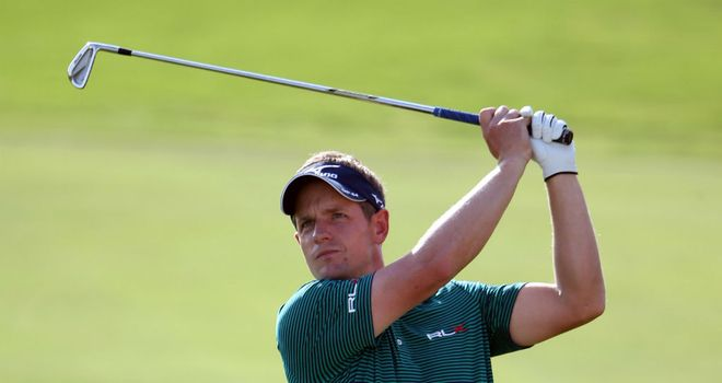 Luke Donald: Carded a bogey-free 65 to set the early pace in Dubai