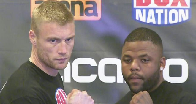 Andrew Flintoff: Weighed in some 25lbs lighter than opponent Richard Dawson