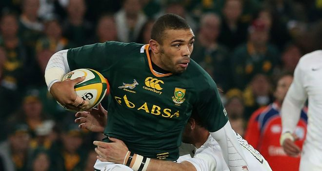 Bryan Habana: South Africa winger understands the mounting pressure England's Chris Ashton