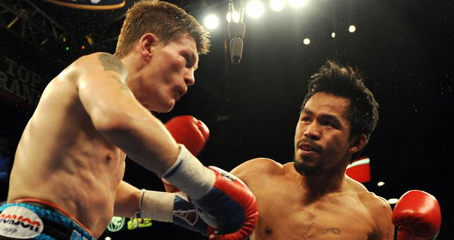 Manny Pacquiao: Believes Ricky Hatton should not be making a comeback