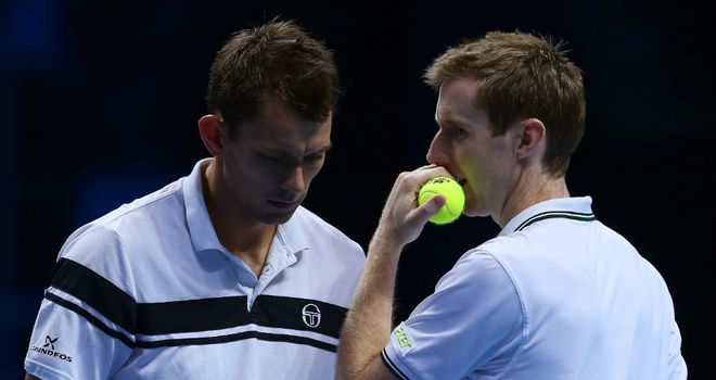 Jonny Marray (R): Was not able to make it three wins from three from the group stages