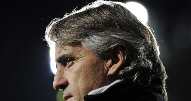 Roberto Mancini: Working under a long-term contract at the Etihad Stadium