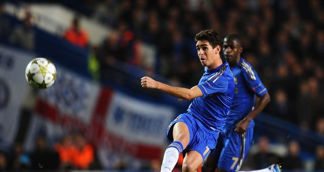 Oscar: Brazilian feels he is coping well with move to England