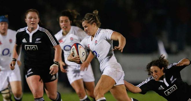 Marlie Packer: On the charge for England Women