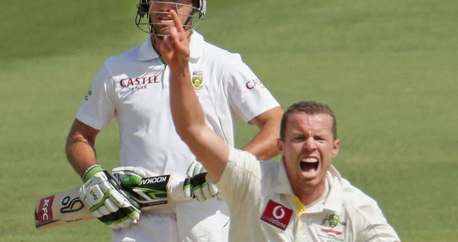 Peter Siddle: Confident of bowling Australia to victory on day five