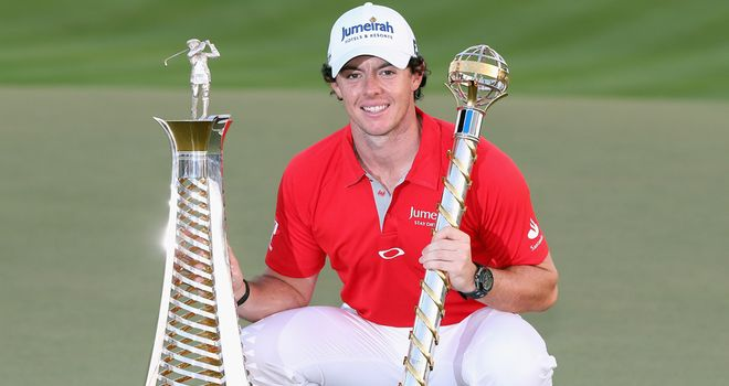 Rory McIlroy: Ends an impressive 2012 as world number one