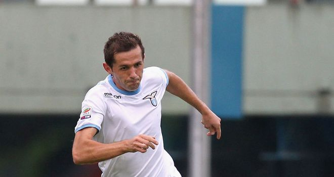 Senad Lulic: Happy at Lazio and his agent has not been contacted by anyone