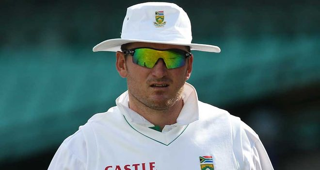 Graeme Smith: South Africa captain shakes on a draw in Sydney