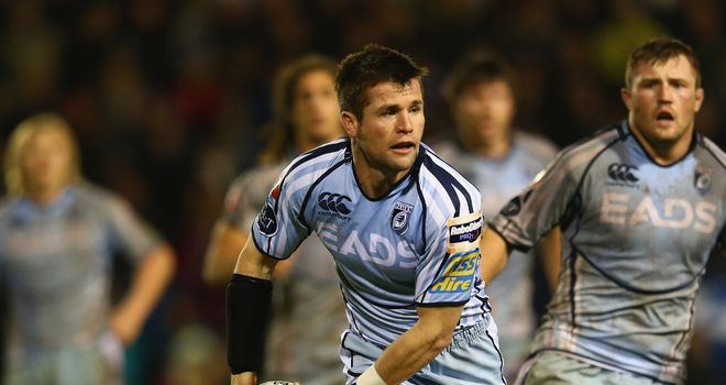 Ceri Sweeney: Joining Exeter Chiefs from Cardiff Blues