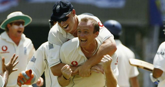 Flintoff's greatest success as captain came with a 1-1 series draw in India