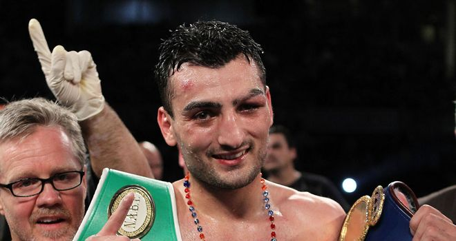 Vanes Martirosyan: Facing his biggest test to date in Erislandy Lara