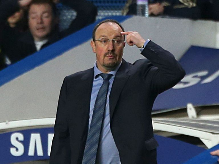 Benitez was denied a victory in his first game in charge of Chelsea