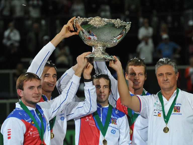 The Czechs are looking to keep their grip on the Davis Cup