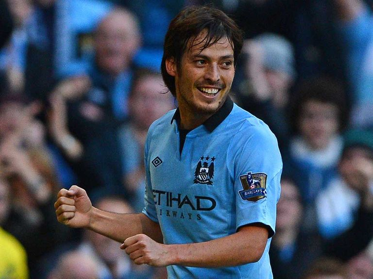 David Silva: In contention for City