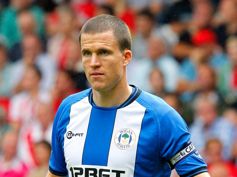 Gary Caldwell: Suspended for Wigan