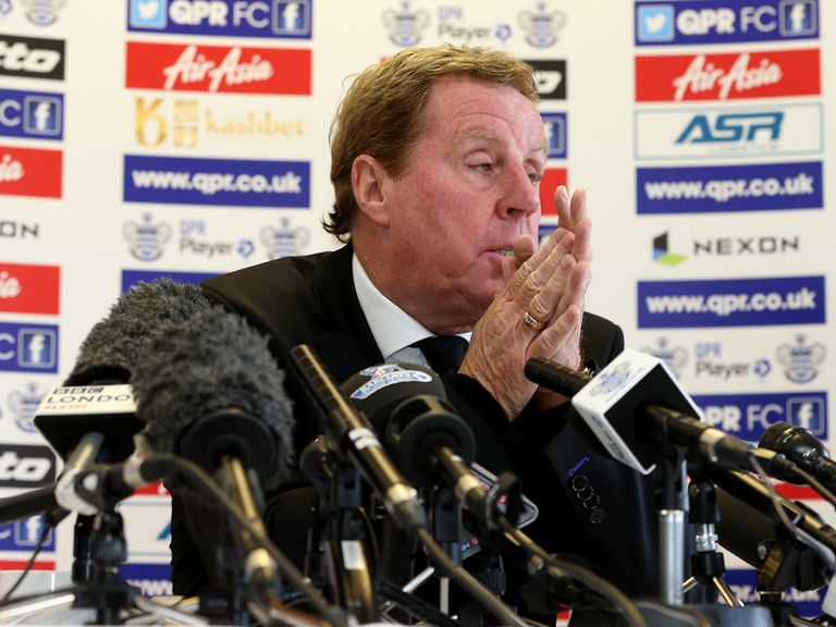 Harry Redknapp: Plenty of strong words dished out