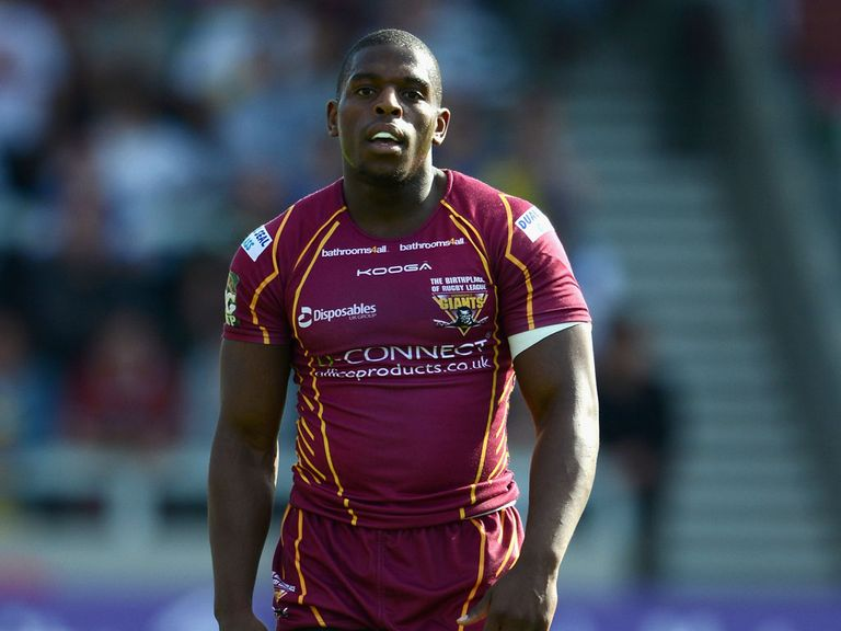 Jermaine McGillvary: Hat-trick for Huddersfield