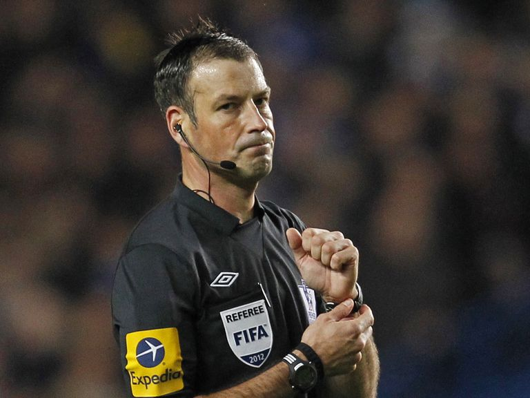 Mark Clattenburg: Fourth official for Tottenham v West Ham