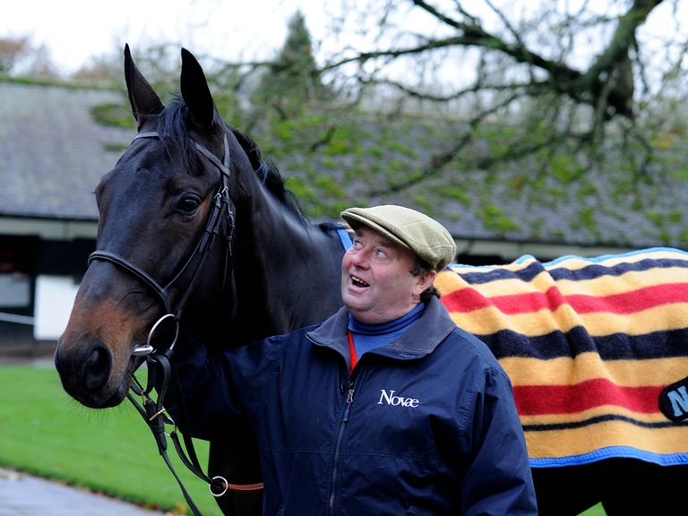 Nicky Henderson with poster boy Sprinter Sacre