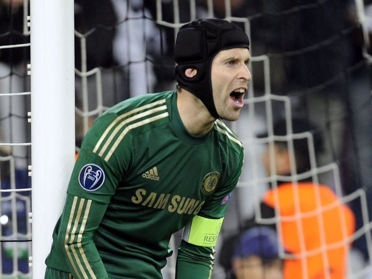 Petr Cech: Pleased with defensive improvement
