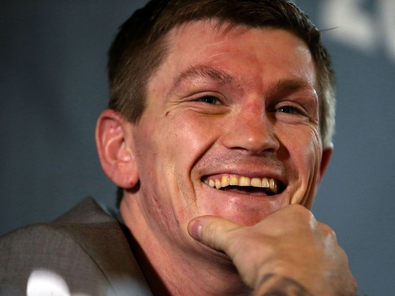 Hatton: All set for his Saturday comeback