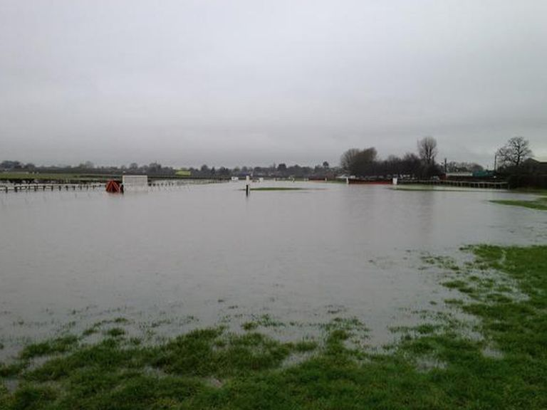 Wetherby under water
