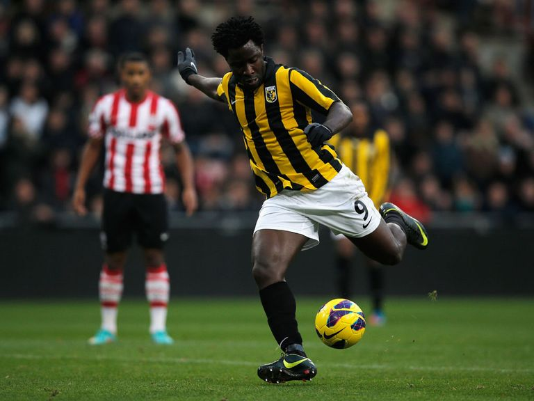 Wilfried Bony scored for Vitesse Arnhem