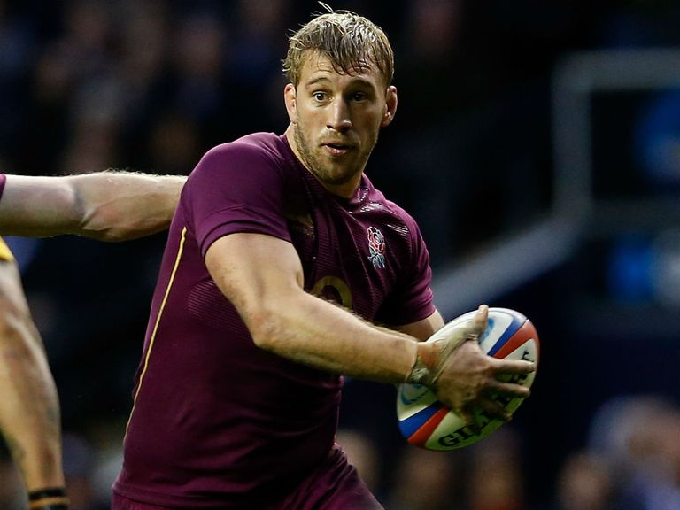 Chris Robshaw: Backed by Stuart Lancaster