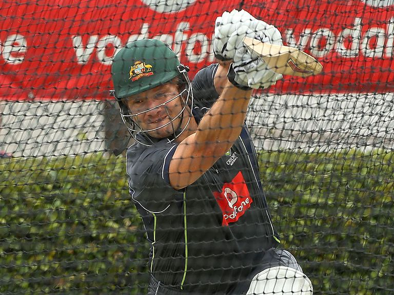 Shane Watson: Looks set to bat at four