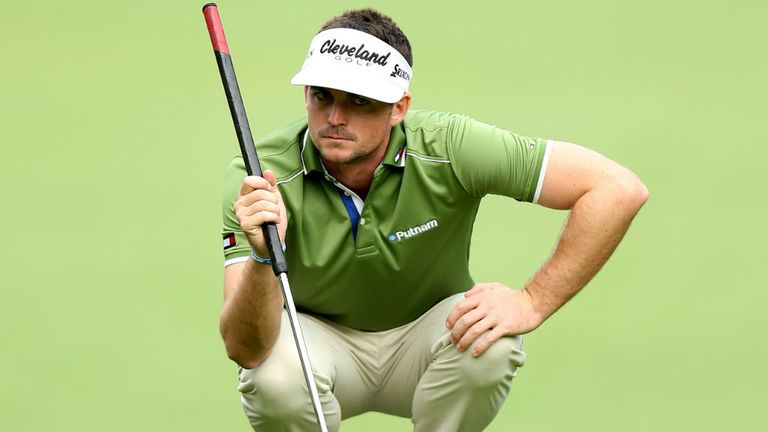 Keegan Bradley: Heckled for using long putter