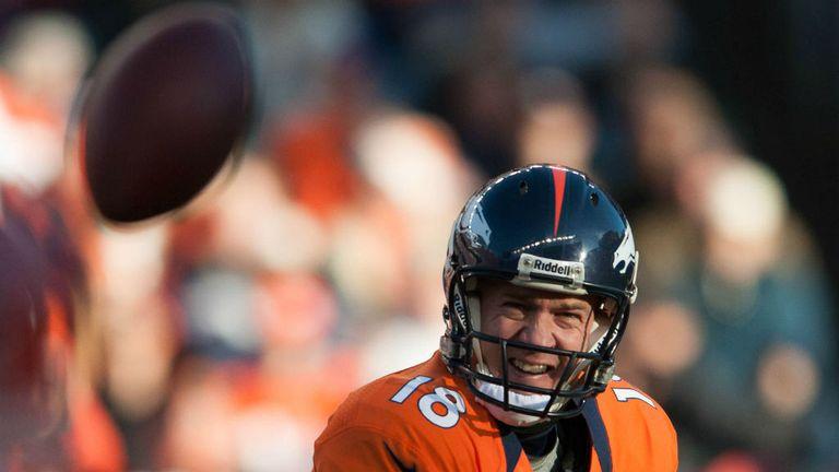 Peyton Manning: Threw three touchdown passes for the Denver Broncos