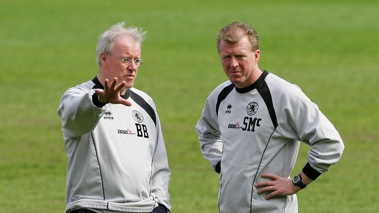 Helping hand: sports psychologist Beswick (left) works closely with McClaren